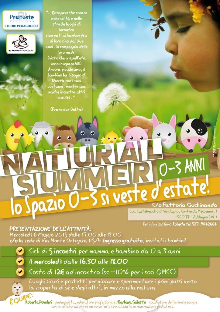 Volantino Natural Summer