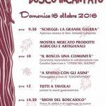 """Passeggiata con gli asini per bambini, festa """"Castelvecchio nel Bosco Incantato"""", domenica 16 ottobre 2016, loc. Castelvecchio (Valdagno – VI), ore 10.00"""
